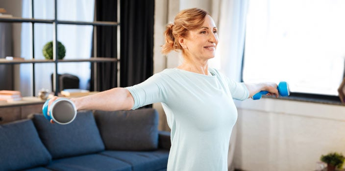 staying active helps stay healthy