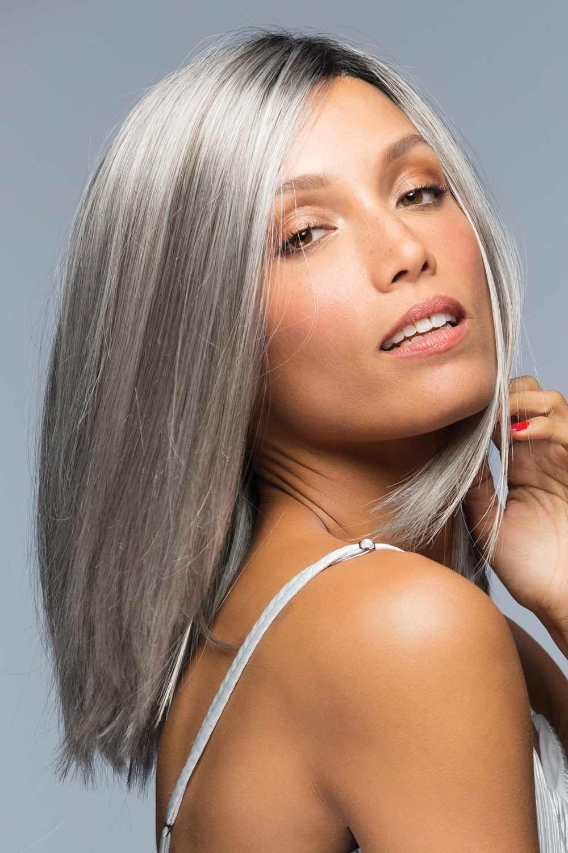 Sutton by Estetica Designs Wigs - Silver Wig Color