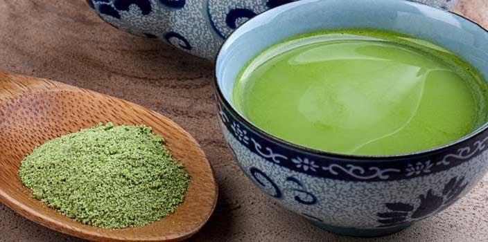 cancer fighting teas, matcha powder green tea