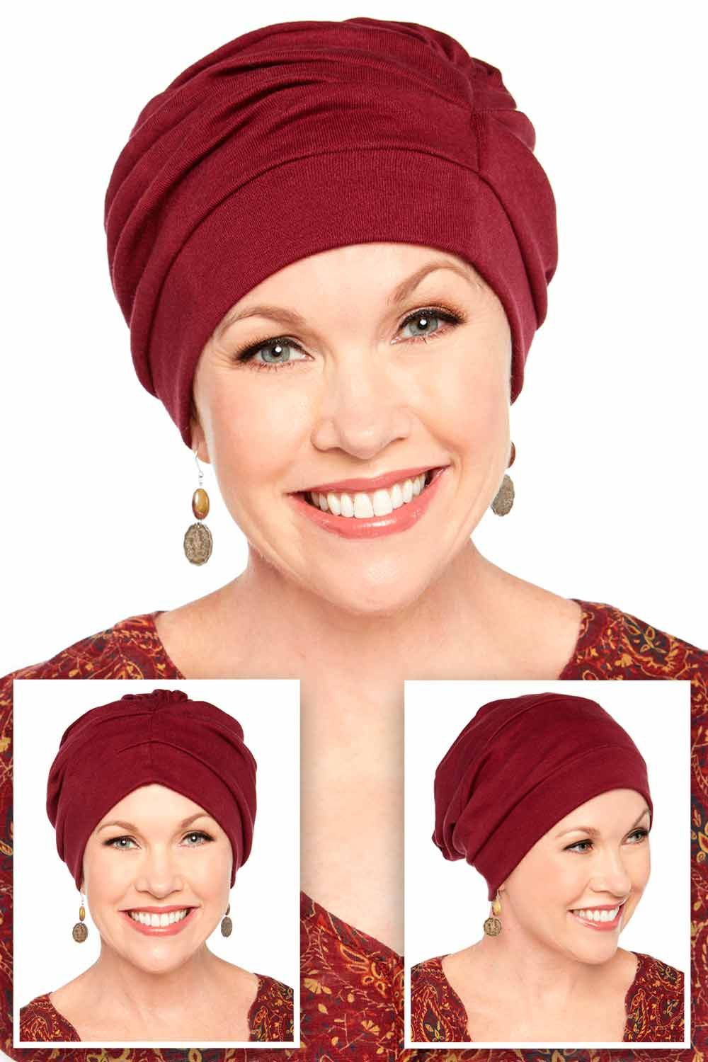 Best hats for chemo - Cotton Trinity turban