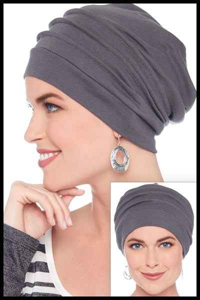 Slouchy Snood Hat | 100% Cotton