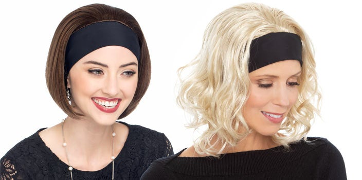 Headband wigs to wear at the gym.