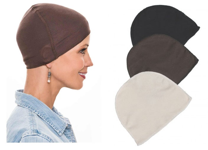 Bamboo and cotton wig caps to wear under lace front wigs.