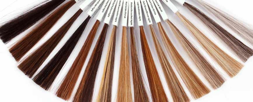 multiple hair color selections