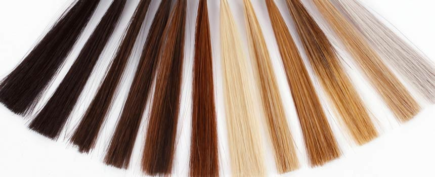 different color options of wigs