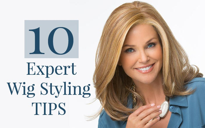 How to Style a Synthetic Wig